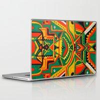 reggae Laptop & iPad Skins featuring Punky Reggae Party by Sharif El Fatatry