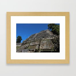 Gran Lamanai High Temple Framed Art Print