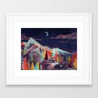 sleep Framed Art Prints featuring Sleep by Karl James Mountford