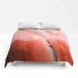 Flamingo #10 Comforters
