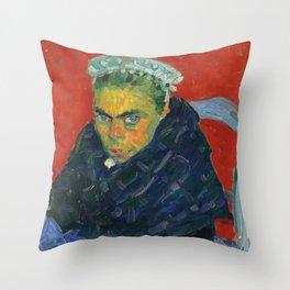 "Alexej von Jawlensky ""Breton Farmer's Wife"" 1905 Throw Pillow"