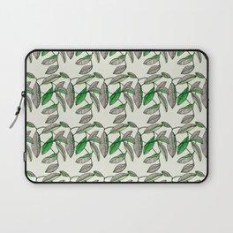 Watercolor Leaves Laptop Sleeve