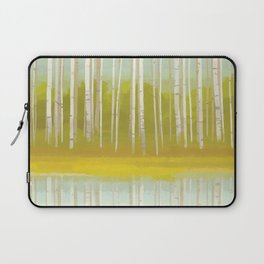 Birch Trees Laptop Sleeve