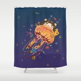 Underwater world Shower Curtain