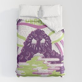 The Deadly Smog! Comforters
