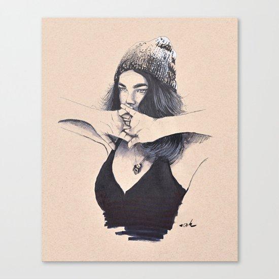 Hot N Cold Canvas Print