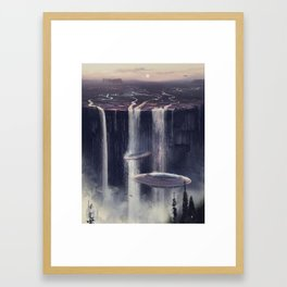 wash&go Framed Art Print