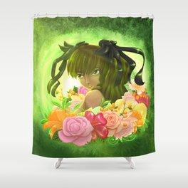 Long feast | Haruka Shower Curtain