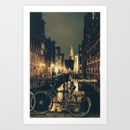 Amsterdam Bike Art Print