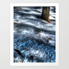'Frozen Trail' Art Print