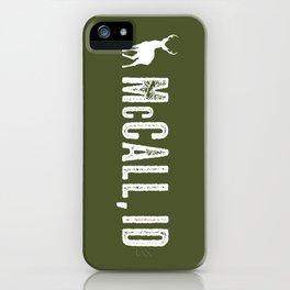 Deer: McCall, Idaho iPhone Case