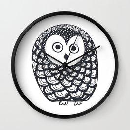 Owl Wall Clock