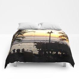 Waikiki Dusk Comforters