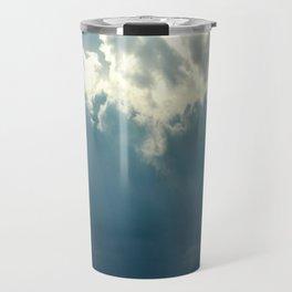 Streaks In The Clouds Travel Mug