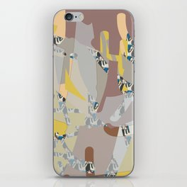Lifescape fragments iPhone Skin