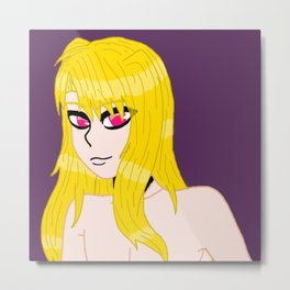 Anme's real eyes Metal Print