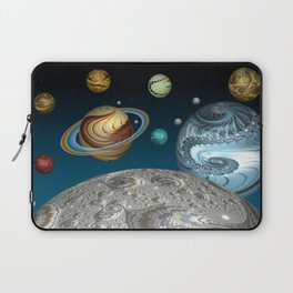 To The Moon And Beyond Laptop Sleeve