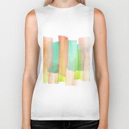 [161228] 5. Abstract Watercolour Color Study |Watercolor Brush Stroke Biker Tank