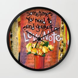 Love Note Wall Clock
