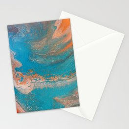 Sunset Blue Stationery Cards