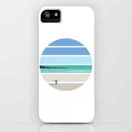 Tiree Longboarder iPhone Case