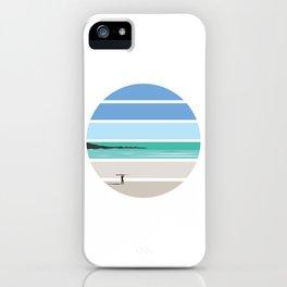 Tiree Longboarder iPhone Case