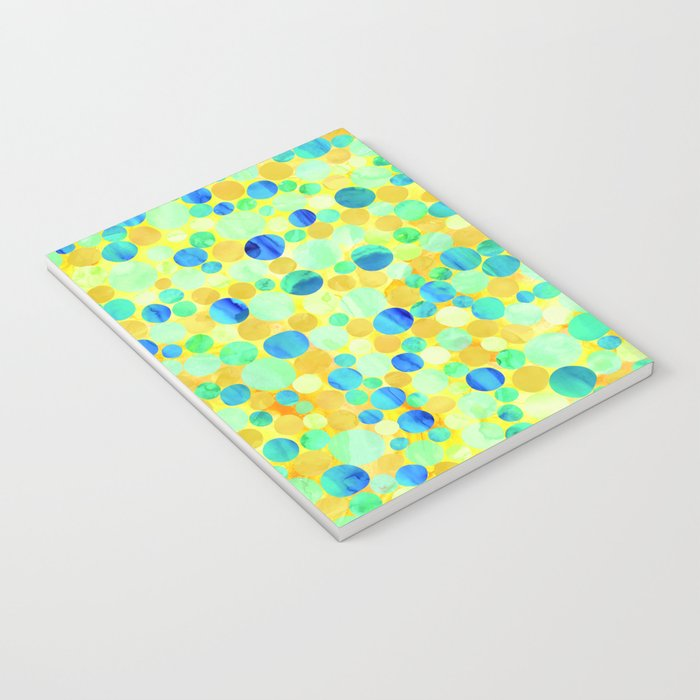 Confetti Pattern 07 Notebook