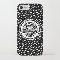 baphomet iPhone & iPod Cases featuring BAPHOMET by DIVIDUS