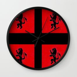 Amazon Etruria's 1st flag Wall Clock