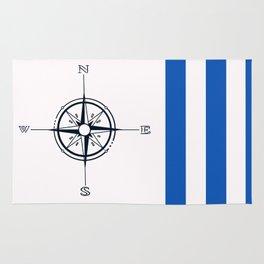 Nautical squares Rug