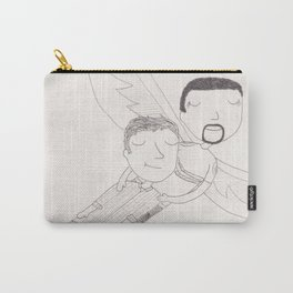 Sam and Scott - flying Carry-All Pouch