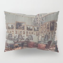 Interior In Palace Windischgratz In The Race In Wien 1848 by Rudolf von Alt | Reproduction Pillow Sham