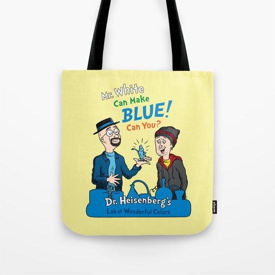 Mr. White Can Make Blue! Tote Bag
