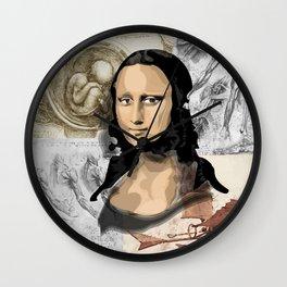 Monna Lisa Wall Clock