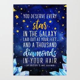 Star and Diamonds Poster