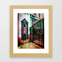 British Guard Framed Art Print