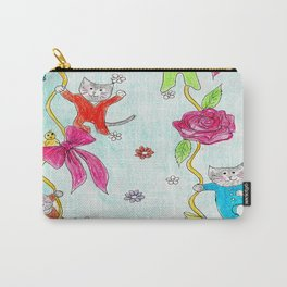 Cats Pajama Party Carry-All Pouch