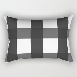 Blak & White Rectangular Pillow