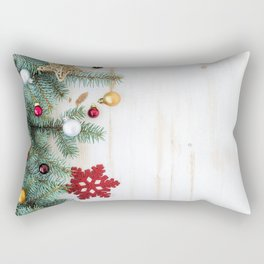 Christmas Decoration 01 Rectangular Pillow