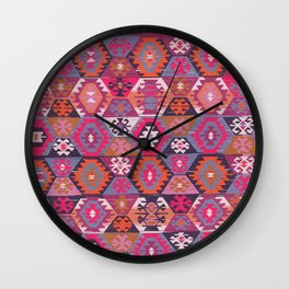 Sunrise Kilim Wall Clock