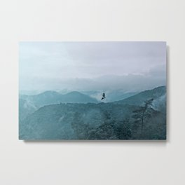 Blue smoky mountains Metal Print