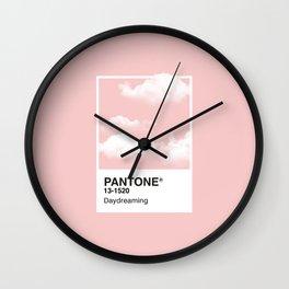 Pantone Series – Daydreaming #2 Wall Clock