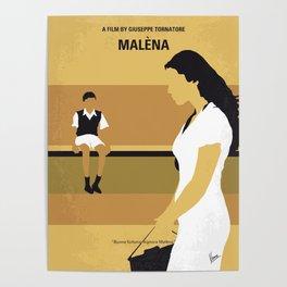 No870 My Malena minimal movie poster Poster