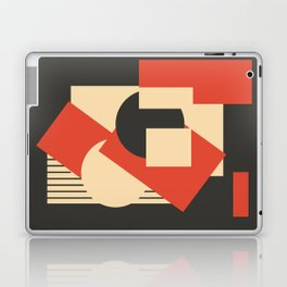 Geometrical abstract art deco mash-up Laptop & iPad Skin