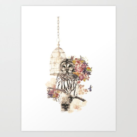 Oh my OWL! Art Print