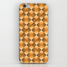 Pass This Gold iPhone & iPod Skin