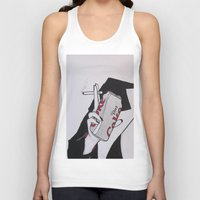 coke Tank Tops featuring Diet Coke Addict by BitchArmy