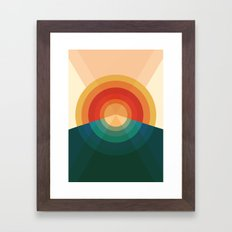 Sonar Framed Art Print