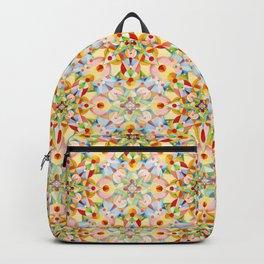 Pastel Geometric Backpack