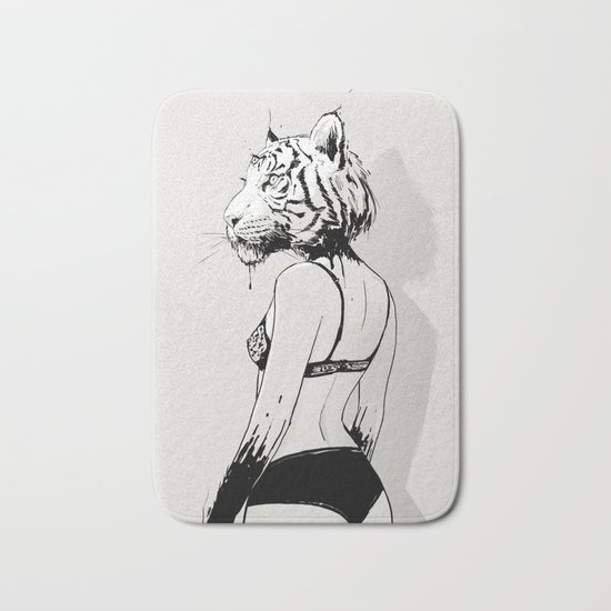 Bloody Tigress Bath Mat